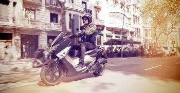 2018-Yamaha-NMAX-EU-Matt-Grey-Action-001